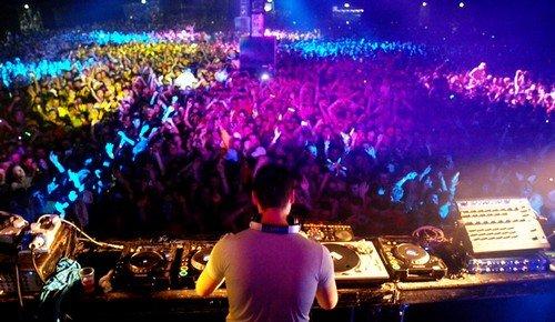 DJ Tiesto live