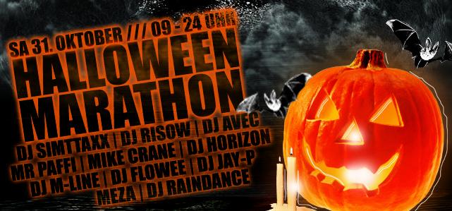 Halloween Marathon 15 Stunden
