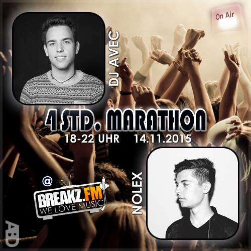 4 Stunden Marathon auf Breakz
