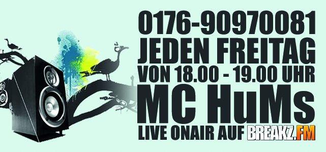 MC-HuMs – JEDEN FREITAG 18-19 UHR Live im Webradio