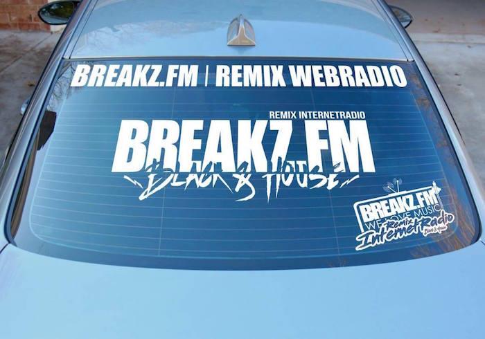 +++NEW++ Breakz.FM Autoaufkleber +++NEW+++