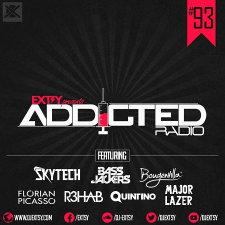 Best of EDM Mix 2016 EXTSY's Addicted Radio #093