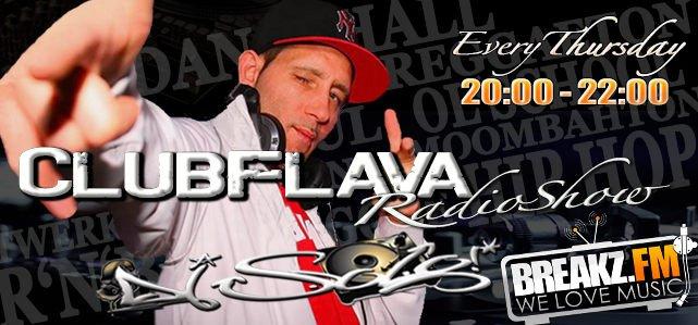 DJ SOLO - JEDEN DONNERSTAG CLUBFLAVA RADIO SHOW 20-22 UHR