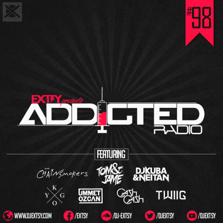 Best Electro House Mix 2017 EXTSY's Addicted Radio #098