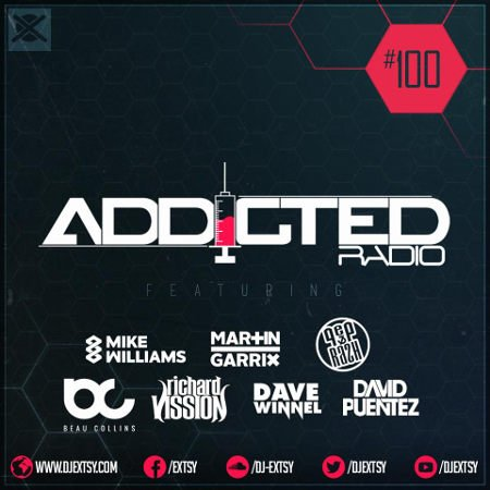 Best Deep & Future House Mix 2017 EXTSY's Addicted Radio #100