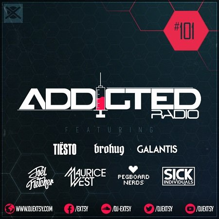 Best Festival EDM Electro House Mix 2017 EXTSY's Addicted Radio #101