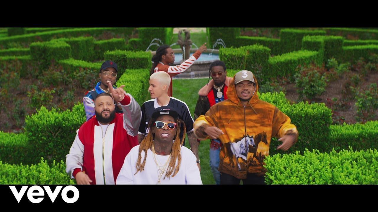 DJ Khaled ft. Justin Bieber, Quavo, Chance The Rapper & Lil Wayne – I'm The One